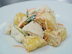 フライドポテトのサラダ