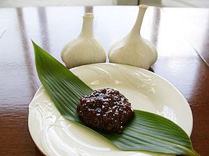 ニンニク味噌(その1)